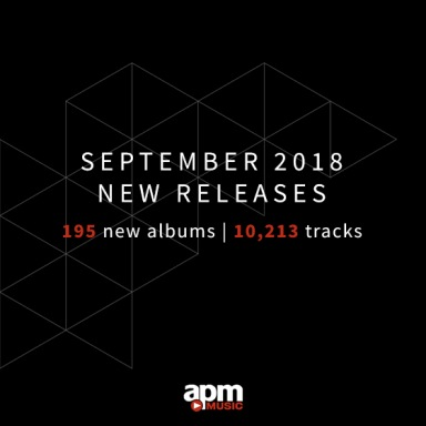 APM Music new releases September 2018